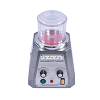 KT 100 MAGNETIC TUMBLER with 100g magnetic pins for free. JEWELRY POLISHER & FINISHING TOOL 220V Magnetic polishing machine