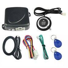 цены на Auto Car Alarm Car Engine Push Start Button RFID Lock Ignition Starter Keyless Entry Start Stop Immobilizer Anti-theft System  в интернет-магазинах