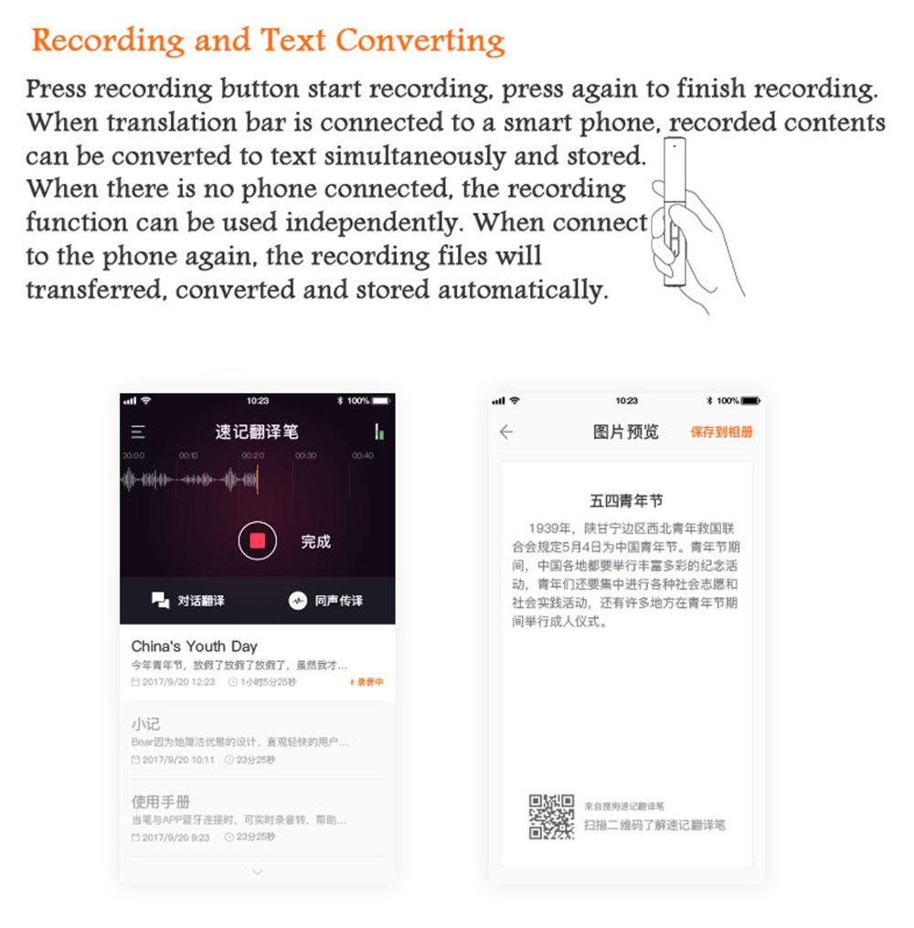 Pocket Language Translator Voice Languages Translation Spanish English French Russian Real-time Multi Instant Translator Device 31