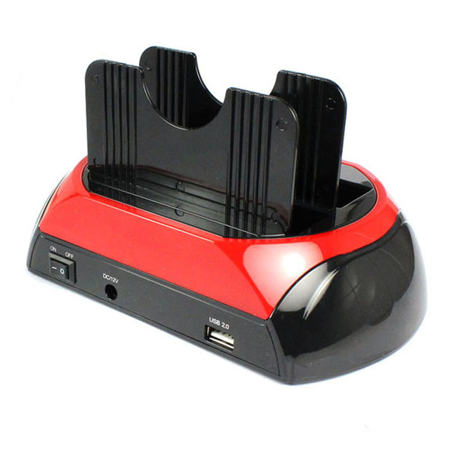 High Quality New All In 1 Dual HDD Docking Station One Button Backup&H-Speed Cloning Jecksion