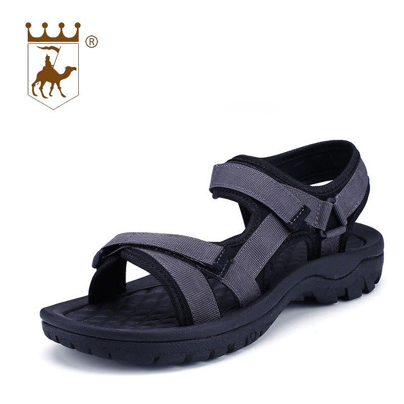 BACKCAMEL 2018 новые летние Стиль дышащие пляжные сандалии для Для мужчин Корейский диких Для Мужчинs Повседневное Для мужчин тапочки обувь неско... ...