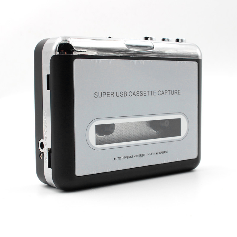 Tape to PC Super USB Cassette-to-MP3 Capture Audio Music Player CD Converter ...