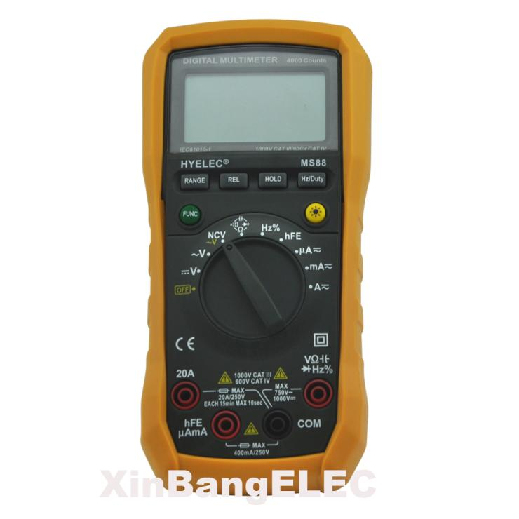 Professional Multifunction Digital Multimeter DMM Multimetro Auto and Manual Range 100% original fluke 15b f15b auto range digital multimeter meter dmm