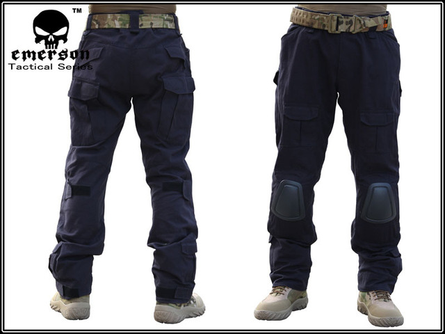how to orders online for sale on feet at US $45.99 |EMERSON casual pants Combat pants Gen 2 black with pads في  EMERSON casual pants Combat pants Gen 2 black with pads من السراويل بجيوب  جانبية ...