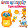 2016 New arriver Design style baby rattles mobiles baby toys 0-12 months hand rattles Toddlers fun Cartoon toys/Safety material