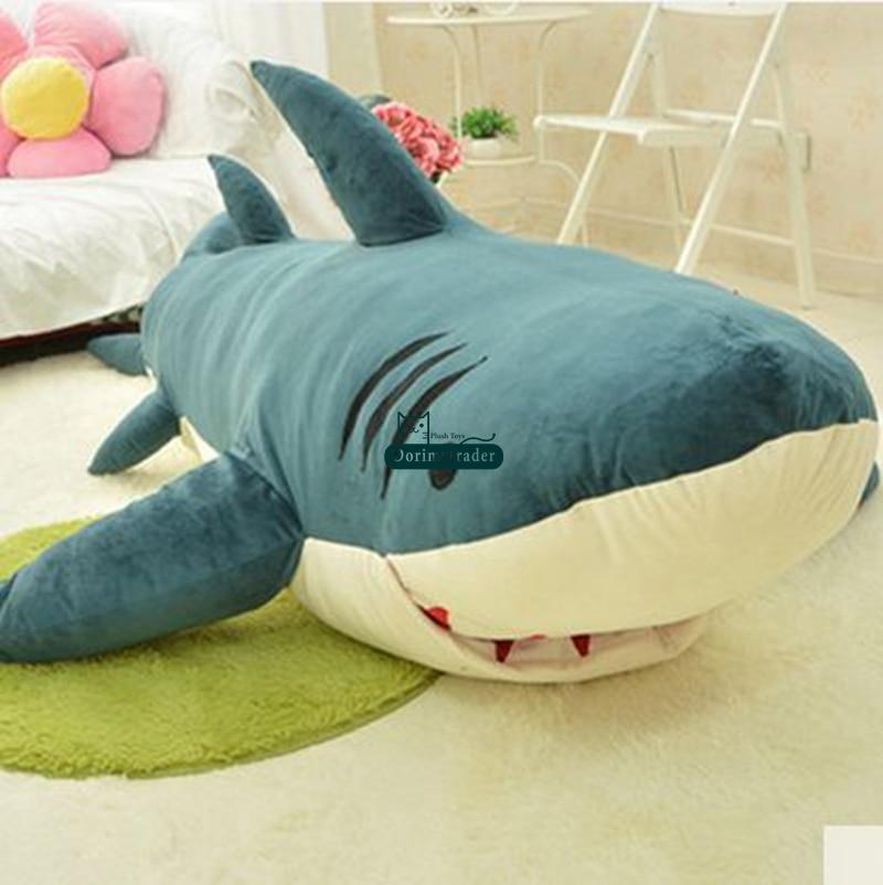 Giant Shark Sleeping Bag aliexpress : buy dorimytrader cartoon animal shark beanbag