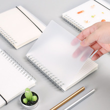 TUNACOCO 80 Pages Simple Style Glazed Paper Notebook PP Matting Bookcover School Office Supplies Bz1710061