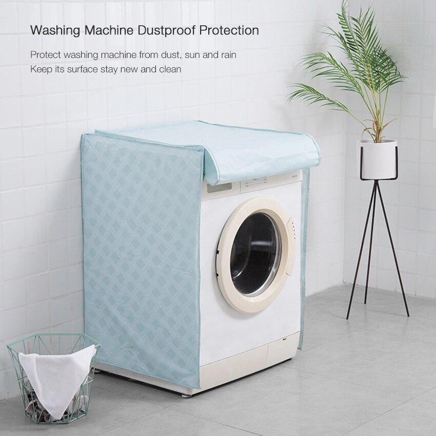 Waterproof Peva Washing Machine Cover Dustproof Washer Protection