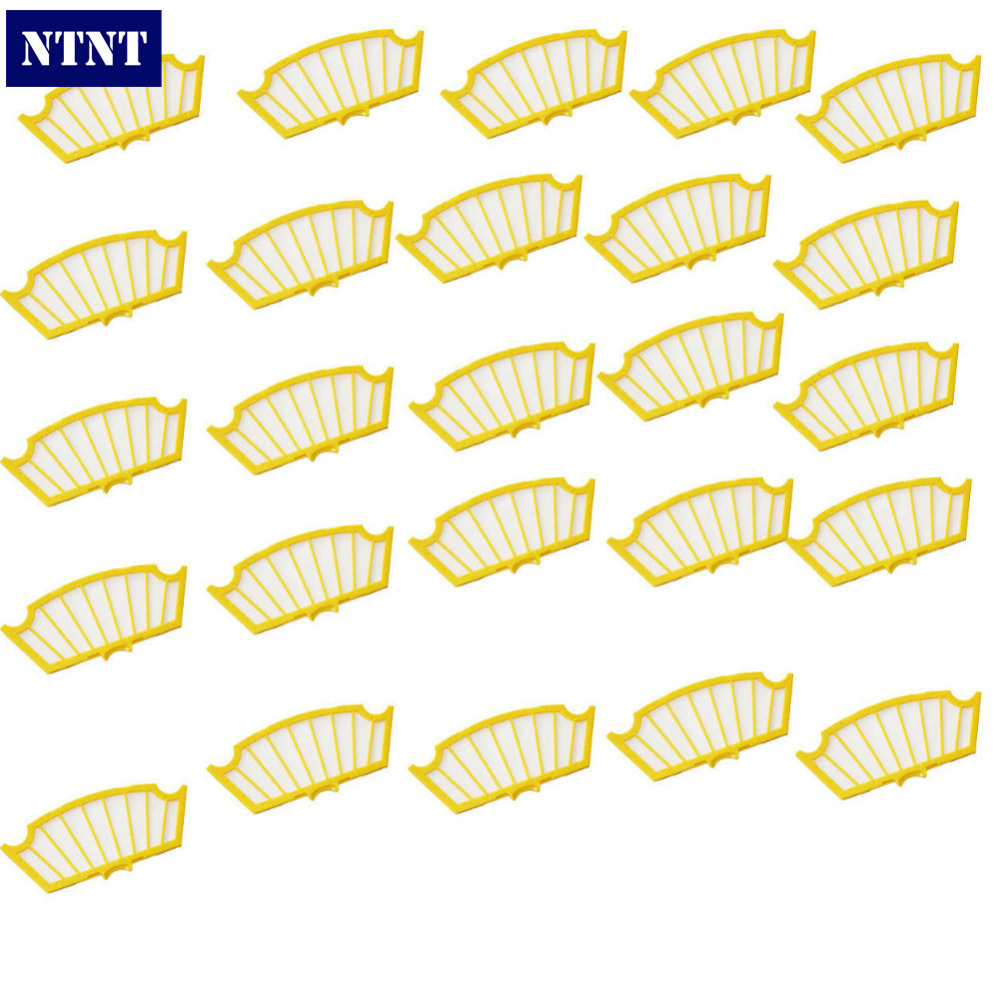 NTNT Free Post New 25 x Filter for iRobot Roomba 500 Series 530 540 550 560 570 580 610 new 1 x series 5 combi shaver foil 51s for braun replacement pack 8000 360 530 570 560 590 8985 free shipping