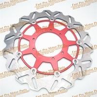 320MM Floating Brake Discs For Honda CR CRF CR125 CR250 CRF250R CRF250X CRF450X CRF450R Dirt Bike