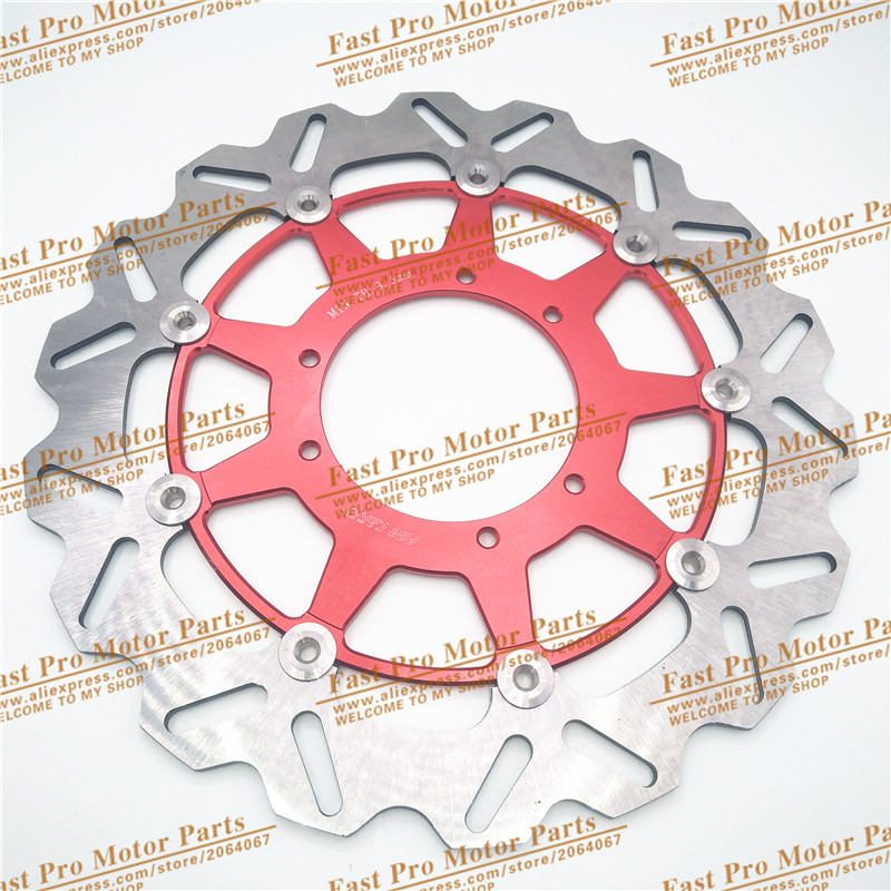 Disques de frein flottants 320 MM pour Honda CR CRF CR125 CR250 CRF250R CRF250X CRF450X CRF450R Dirt Bike Motocross Enduro