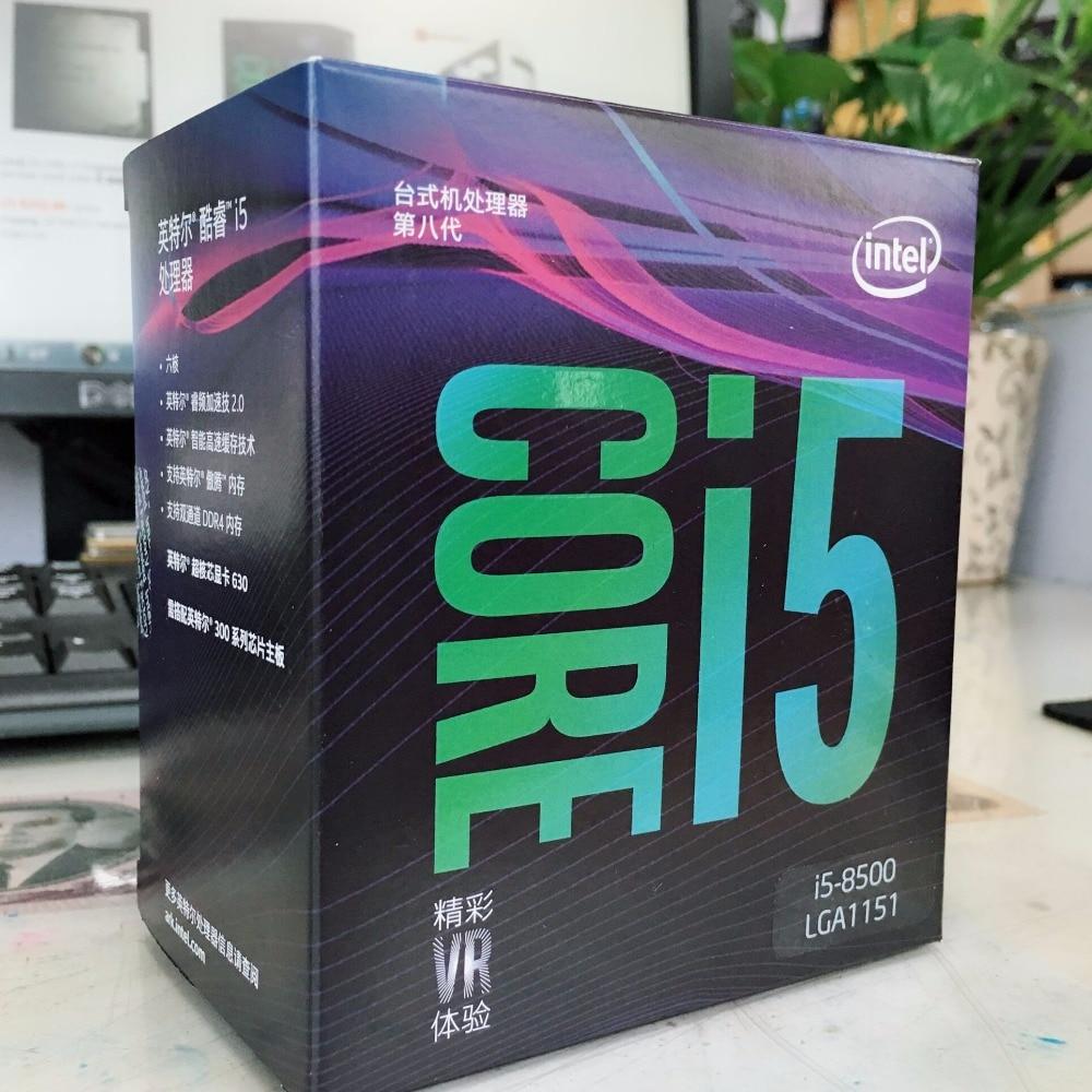 Intel PC computer Core i5 8 series Processor I5 8500 I5-8500 Boxed processor CPU LGA 1151-land FC-LGA 14 nanometers Six Core цена