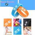 Bluetooth Health Wristband Sport Fitness Tracker Sleep Monitor Band Smart Watch Support Mobile Phone APP A6 Model