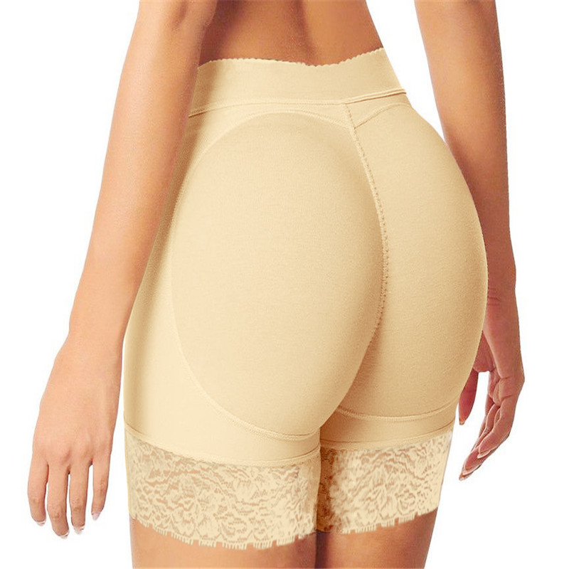 b8a4363e352 Hot Shaper Pants Sexy Boyshort Panties Woman Fake Ass Underwear Push Up Padded  Panties Buttock Shaper