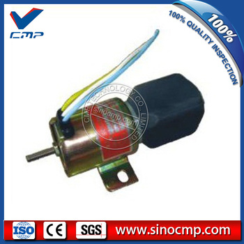 24v R200-5 fuel stop, shut off, flameout solenoid SA-4735-24