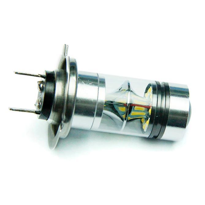 kongyide Healight Bulbs H7 6000K 100W LED 20-SMD Projector Fog Driving DRL Light Bulbs HID White NOV10