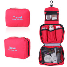 Big capacity new design top sale foldable cosmetic bag for girls travelling collection