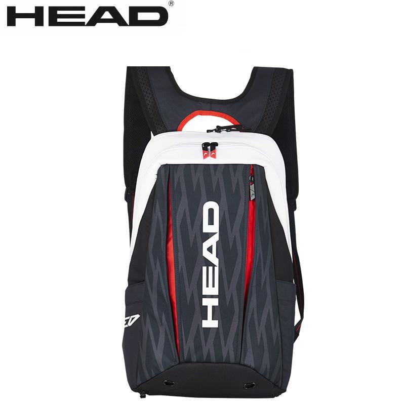 100 Original Head Novak Djokovic Tennis Bag Raquete De Tenis Backpack Tennis Raquet Bag Backpacking Backpackbackpack Original Aliexpress
