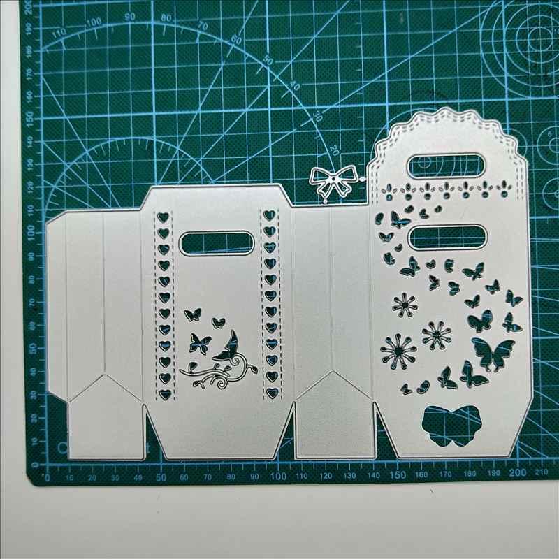 Candy Box Metal Crafts Decor Cutting Dies Stencil DIY Scrapbooking Embossing