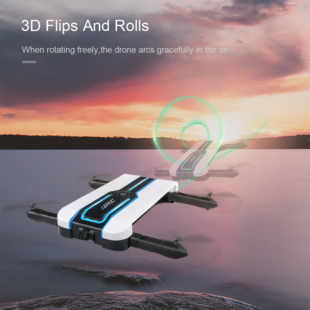 JJRC JJRC H61 720P Camera Selfie Drone Wifi FPV Foldable Drone RC Quadcopter 6Axis Gyro Mini Dron RC Helicopter Phone Control (18)
