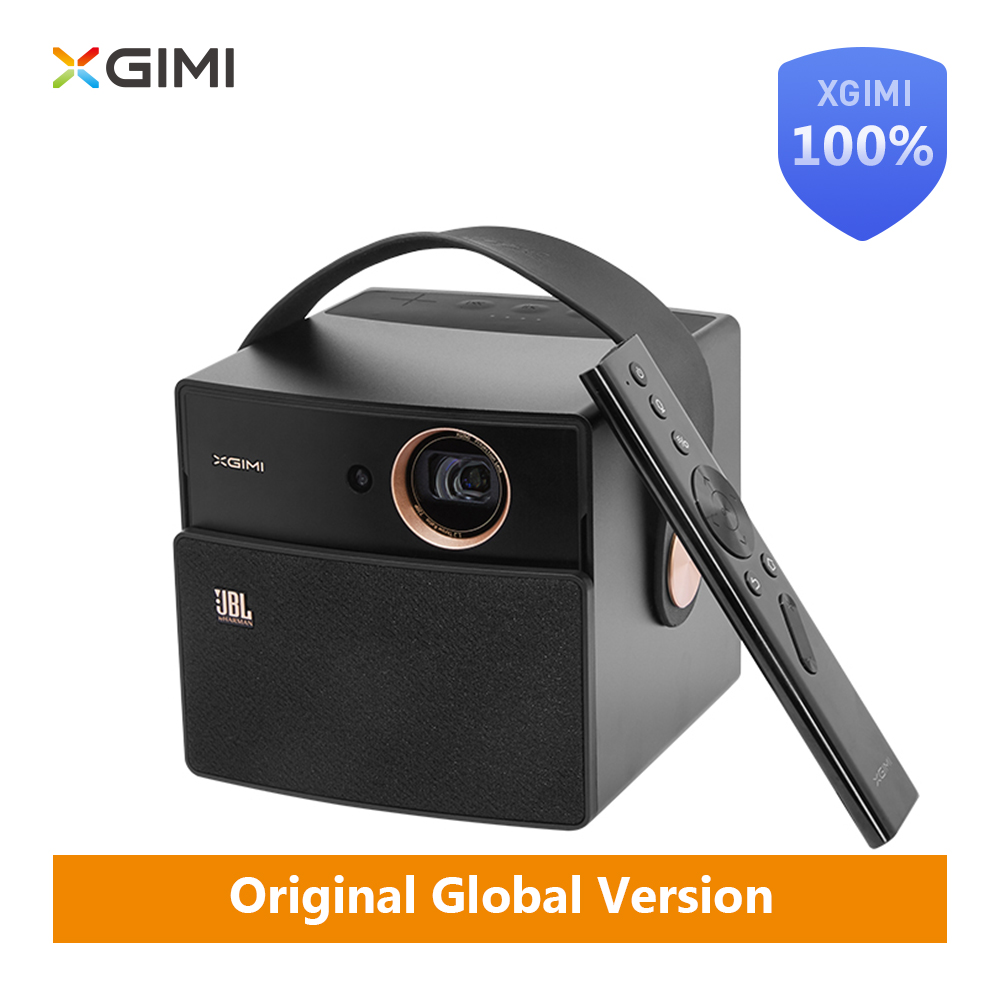 D'origine XGIMI CC AURORA Dark Knight mini projecteur DLP 350 ANSI Lumens 16 GB led Android Bluetooth 4 k portable vidéo home Cinéma
