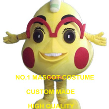 912ed09b09dc yellow monster mascot costume custom cartoon character cosplay adult size  carnival