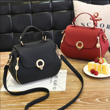 Стиль, маленькая квадратная сумка с замком, простая сумка на плечо, модная сумка на одно плечо, LF-009