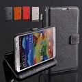 Для Samsung Galaxy Note 3 Case Оригинальные Подлинная Коровьей Личи кожаный Держатель Стенд Карта Чехол для Galaxy Note 3 Бумажник Case