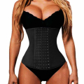 Tummy Waist Trainer With 7 Steel Boned Body Shaper Slimming Belt Waist Trainer Trimmer Girdles Control Corset Workout Cincher