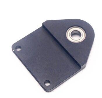 WANHAO D7 анти-Воблеры алюминиевая крышка Черный анодированный с подшипником