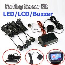 SINOVCLE Auto Parkplatz Sensor Kit Summer/LED/LCD Display Reverse Backup Radar Monitor System 12V 8 Farben