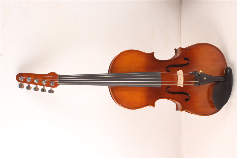 4/4 Violin best ebony parts , Russian SPruce Pro+ #1201-in
