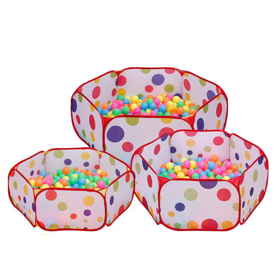 Ocean Ball Pool Pit Playhouse Portable Foldable Tent Indoor Outdoor Educational Colorful Toys Gift For Children Kids Baby