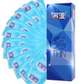 30pcs brand chinese man quality ultra super thin condon 002 penis sleeve Intimate condoms kondom adult sex toy product for men