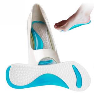 4b1f479589 JIASHA Gel Arch Support Insoles Orthotic Foot Feet Women