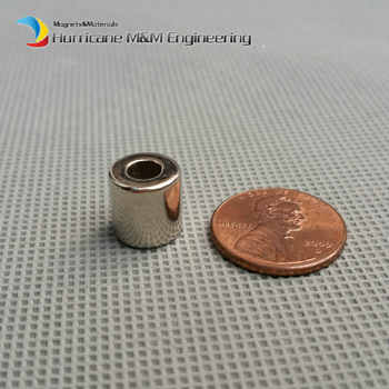 NdFeB Magnet Ring Dia 10x4x10 mm N42 Tube Axially Magnetized Strong Neodymium Permanent Rare Earth Magnets 1000pcs - DISCOUNT ITEM  0% OFF All Category