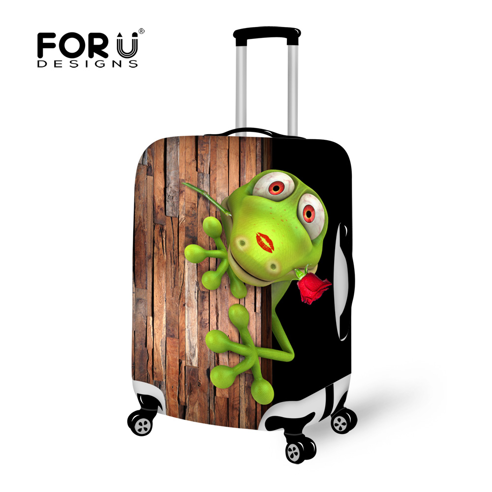 FORUDESIGNS Elastic Luggage Protection Covers 3D Curious Pencil Stretch Cover Cover for 18-30 inch Case Troli Case Coverproof