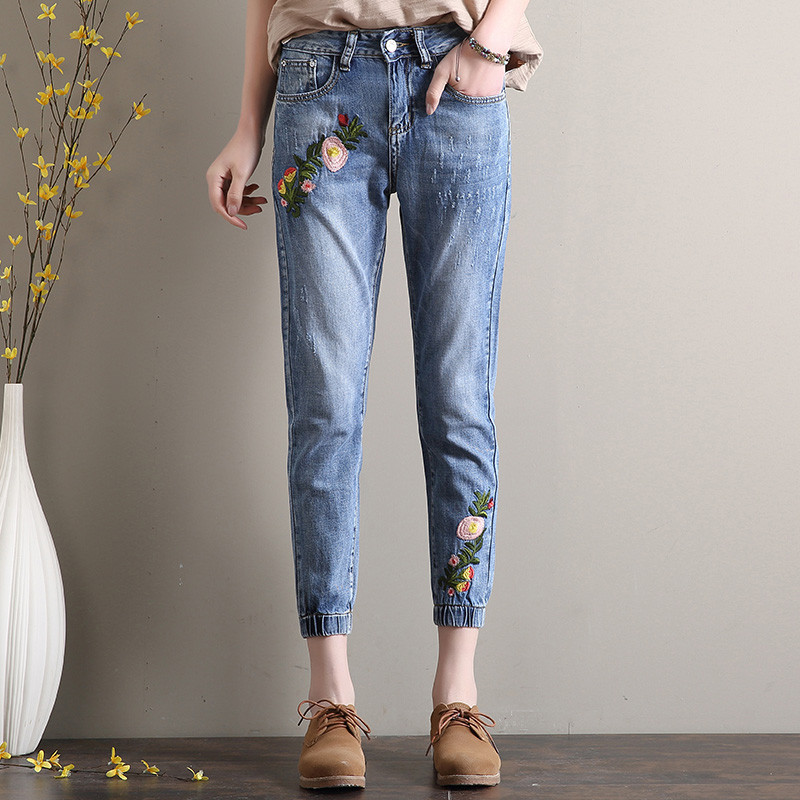 Popular Jeans for Plus Size Woman-Buy Cheap Jeans for Plus Size ...