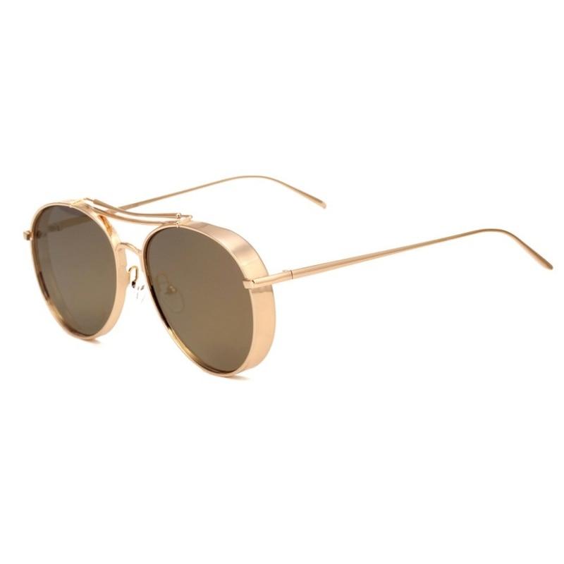 2016 Newest Metal Thick Frame Sunglasses Classic Pilot Women Sun ...