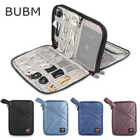 2017 Brand BUBM Leather Storage Bag For Ipad Air Pro 9 7 Inch Digital Accessories Sleeve