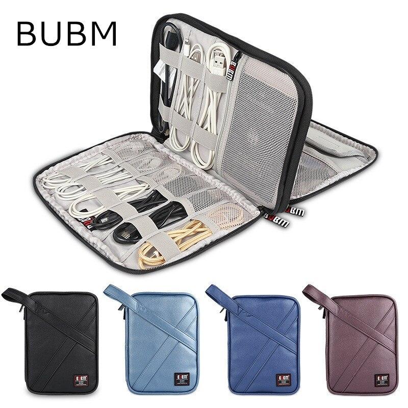 2019 Brand BUBM PU Leather Storage Bag For ipad Air,Pro 9.7 inch,Digital