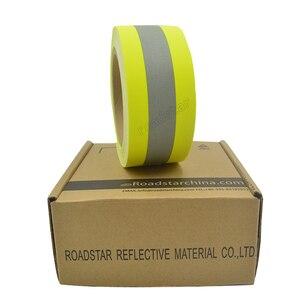 Image 5 - 5 センチメートル幅反射火炎 retardatn テープ黄色シルバーと 100% 綿手袋用送料無料