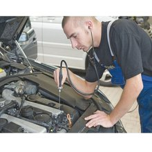 Car Diagnostic Tools Car Engine Block Stethoscope Professional Automotive Detector Auto MechanicsTester Tools Engine Analyzer