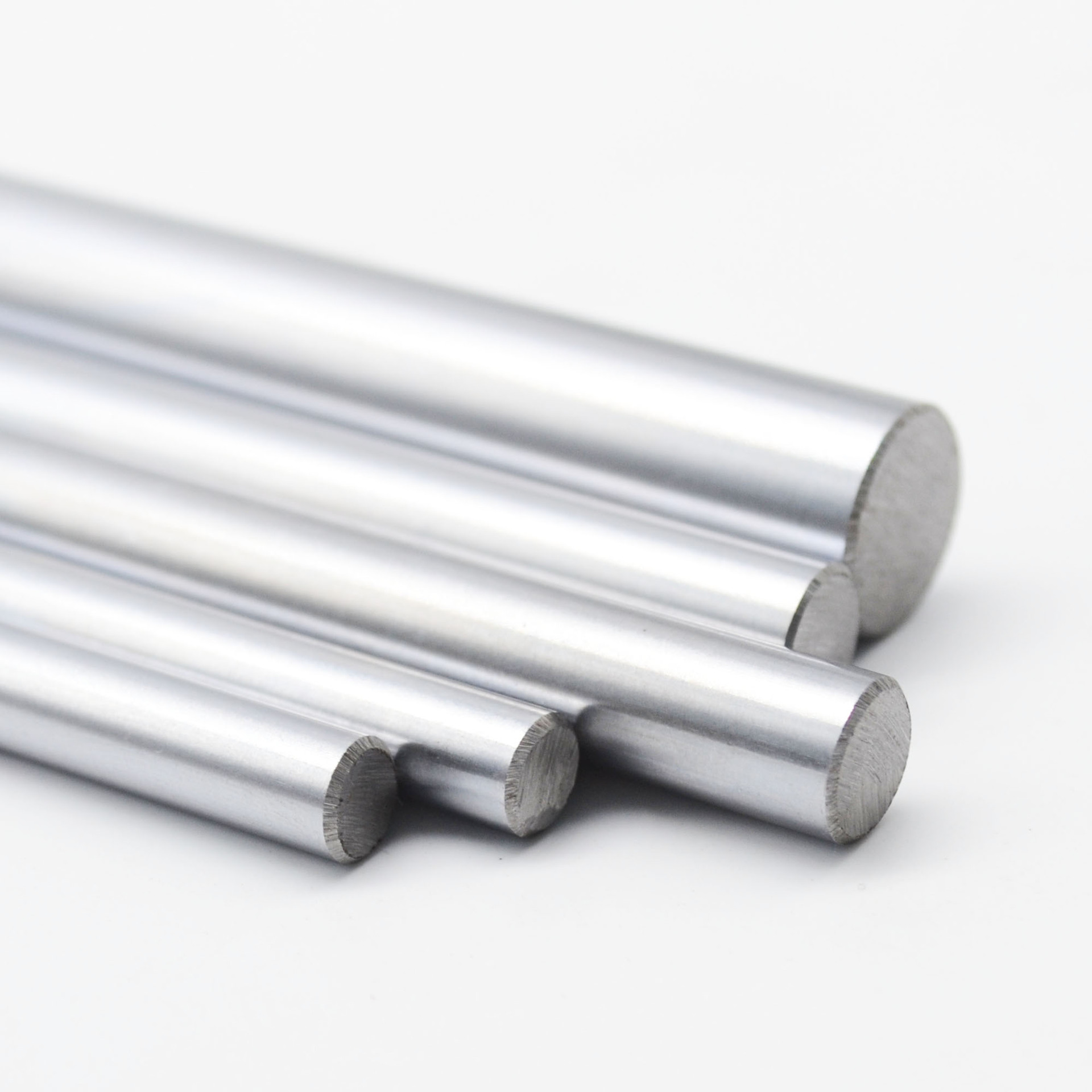 2pcs High Accuracy 8mm Linear Rail Cylinder Shaft Optical Axis Smooth Rod 300320330350390400500mm For 3d printer CNC Parts