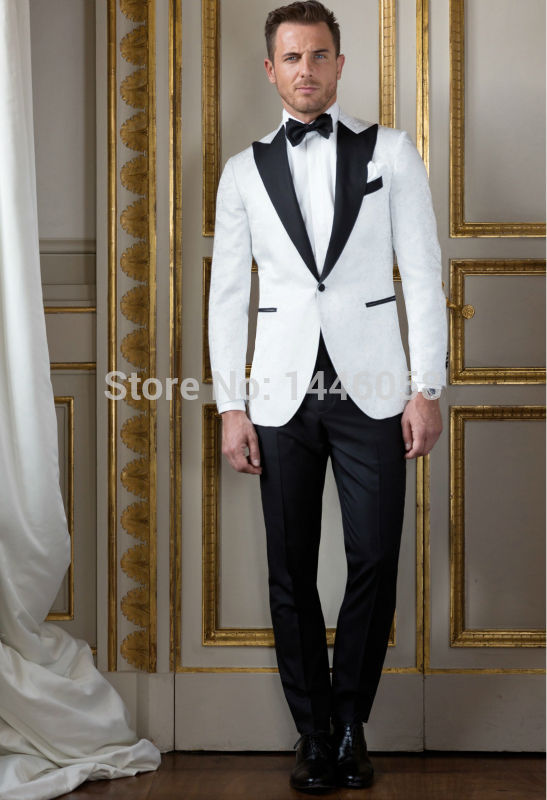 Famous White And Black Suits For Groom Ideas - Wedding Ideas ...