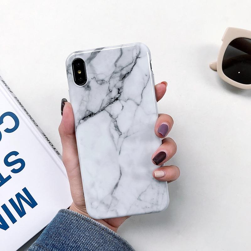 Marmorist kaitseümbris iPhone 12 11 6 6s 7 8 Plus X XR XS Max iPhone X 1