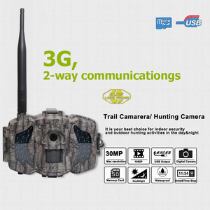 Image 5 - Bolyguard 3G Hunting Trail game Camera 30MP 1080PH Wireless Photo Trap Camera 100ft SMS MMS GPRS wild camera chass thermal image