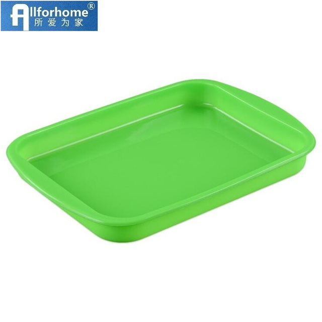Allforhome Rectangle Silicone Cake Baking Tray Cake Pan Toast Bread Pizza DIY Mould Soap Making Mold Mousse Cake Mold Bakeware