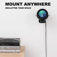 Stand Adjustable Stand Aluminum for Echo Spot Bracket 360 Rotation Metal Bracket Strong Magnetic Base for Echo Spot