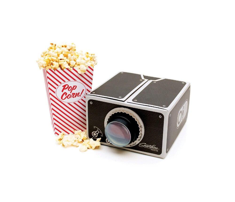 Projecting Aratus Diy Mobile Phone Smartphone Projector Cardboard Mini Portable Home Cinema Opaque Instrument In Projectors From Computer
